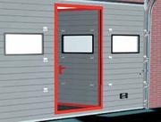 Ворота гаражные автоматические секционные,  промышленные ворота